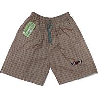 Combo 3 quần đùi  nam cotton 100% mền mát (mẫu caro < 90kg )