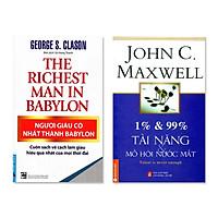 Combo Người Giàu Có Nhất Thành Babylon, 1% và 99% Tài Năng Và Mồ Hôi Nước Mắt
