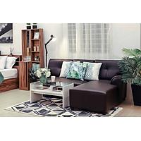 Sofa Chữ L/Trái H-JAY/P Màu Nâu Đậm Index Living Mall