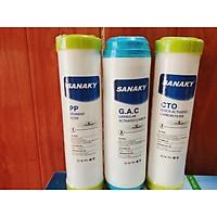 Bộ lõi lọc nước Sanaky số 1, 2, 3