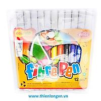 Bút lông TL 12 màu Colokit FP01