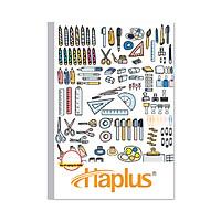 Lốc 10 quyển Vở kẻ ngang có chấm Haplus - Chill (120 trang) (Giao hình ngẫu nhiên)
