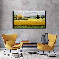 tranh sơn dầu phong cảnh 01 80x160 không khung