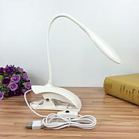 Đèn Led chống cận Table Lamp MH-007 Kẹp hoặc để bàn & cổng USB tiện lợi di chuyển (Giao màu ngẫu nhiên)
