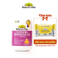 Viên Uống Hỗ Trợ Cân Bằng Nội Tiết Tố Nữ Nature's Way Evening Primrose Oil 200 Viên