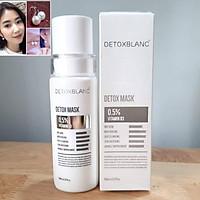 Mặt Nạ Thải Độc Trắng Da Ngừa Mụn Nám Detox BlanC: Detox Mask (mẫu mới) + tặng kèm hoa tai ngọc trai cực xinh