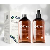 Combo Chống Rụng Tóc, Gàu, Nấm Da Đầu, Tóc Hư Tổn - Bộ Đôi Chăm Sóc Hoàn Hảo Dermato 200 & Antisol