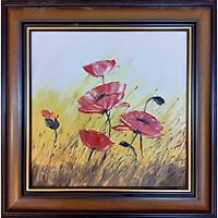 Tranh sơn dầu sáng tác vẽ tay: Hoa Xuân