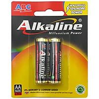 Vỉ 2 Pin ABC Alkaline AA AK-AA2B