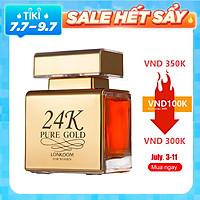 Nước Hoa LONKOOM PARFUM 24K Gold perfume for women EDP Sweet-fruity Fragrance 100ml