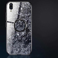 Iring nhẫn điện thoại ring dán lưng điện thoại ring phone mobile thông minh 0412 vân đá xoay tròn 360 độ móc ngón tay giữ điện thoại chắc chắn