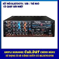 Amply karaoke nghe nhạc gia đình bluetooth Cali.D&Y PRO-19.6D - Hàng chính hãng