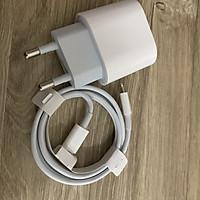 COMBO Củ sạc + Cáp dữ liệu Type C to lighting sạc Nhanh Promax iphone, ipad 18W dùng cho Iphone, Ipad, Android