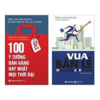 Combo 2 cuốn sách hay nhất về bán hàng: Vua Bán Lẻ + 100 Ý Tưởng Bán Hàng Hay Nhất Mọi Thời Đại ( Tặng kèm Bookmark Happy Life)