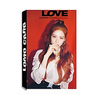 Lomo card Jisoo BLACK PINK Album