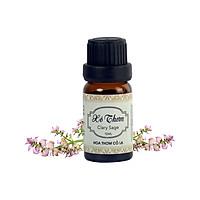 Tinh Dầu Xô Thơm - Clary Sage Essential Oil 5ml - Hoa Thơm Cỏ Lạ