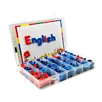 Đồ chơi nam châm - Bộ chữ cái ( 2 bộ chữ in hoa + 6 bộ chữ thường)
