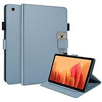 Ốp điện thoại nắp gập da silicon mềm linh hoạt cho Samsung Galaxy Tab A7 10.4 SM-T500 SM-T505