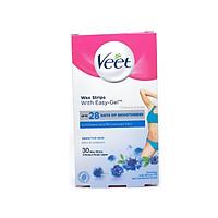 Tẩy lông vùng Bikini VEET Wax Strips 16 Miếng - Da Nhạy Cảm