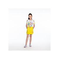 Áo bé gái - Off - Shoulder Rainbow Flamingo M.D.K AGSUM19T09