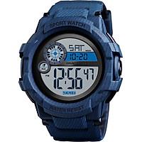 SKMEI 1387 Men Watch Analog Digital Electronic Watch Fashion Casual Outdoor Sports Male Wristwatch 3 Time Display Alarm