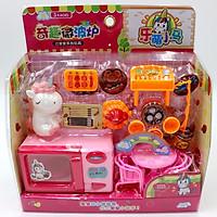Bộ  Mô Phỏng Nhà Bếp Mini Cho Trẻ Em - Màu Ngẫu Nhiên