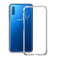Ốp Lưng Chống Sốc cho điện thoại Samsung Galaxy A7 2018 - Dẻo Trong - Hàng Chính Hãng