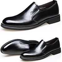 Giày da công sở big size, giày tây nam big size cỡ lớn 44 45 46 47 48 cho chân to - GT016