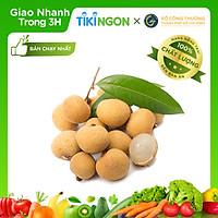 [Chỉ giao HCM] - Nhãn Ido Thịt dày hạt nhỏ VietGAP (Hộp 2kg) - được bán bởi TikiNGON - Giao nhanh 3H