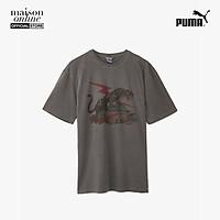 PUMA - Áo thun nam tay ngắn cổ tròn Puma x Rhude (pending) 595339-01