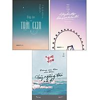 Sách Skybooks - Combo: Đáp Án Của Thời Gian + Đừng Cúi Đầu Mà Khóc + Trời Sinh Vụng Về, Hãy Bù Đắp Bằng Sự Kiên Trì