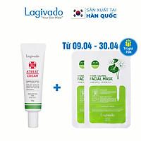 Kem chấm giảm mụn Hàn Quốc Lagivado ngừa thâm sẹo rỗ, thông thoáng lỗ chân lông Dr. Atreat Cream 30 ml