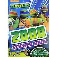 Nickelodeon Teenage Mutant Ninja Turtles 2000 Sticker Book
