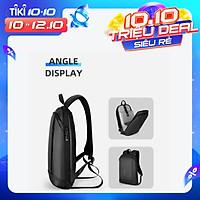 Ba Lô Chống Trộm Chống Nước MARK RYDEN Slim Laptop Backpack Men Thin   Back Pack 15.6 inch Work Man Backpack Business Bag Unisex Black Ultralight