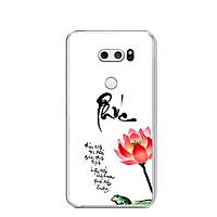 Ốp lưng dẻo cho điện thoại LG V30 - 0452 PHUC - Hàng Chính Hãng