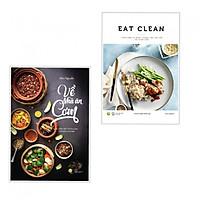 Combo Sách Nấu Ăn Cực Hay Không Nên Bỏ Lỡ: Eat Clean - Thực Đơn 14 Ngày Thanh Lọc Cơ Thể Và Giảm Cân  + Về Nhà Ăn Cơm (Tặng Bookmark Thiết Kế Aha)
