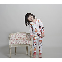 Bộ dài cho bé Olomimi Hàn Quốc Beauty And The Beast FW20 - 100% cotton