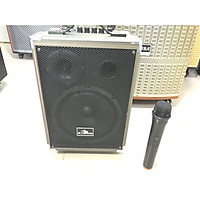 Loa Kéo Karaoke Bluetooth Kiomic Q8 Vân Gỗ Điều Chỉnh Bass, Treble - Hàng Chính Hãng