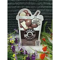 Mặt Nạ Chiết Xuất Ca Cao Giúp Làm Mịn Da, Săn Chắc Mediheal Cacao Vita Mask 25ml