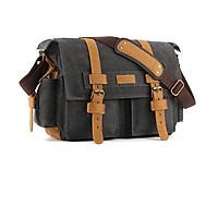 Túi máy ảnh Canvas đeo chéo thời trang cao cấp