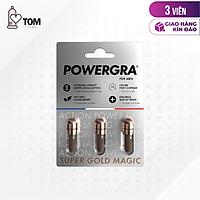 Viên uống tăng cường sinh lý nam giới Powergra (Super Gold Magic) - Vỉ 3 viên