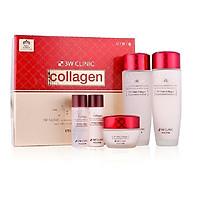 Combo Bộ 3 sản phẩm dưỡng trắng da collagen 3W CLINIC Hàn Quốc