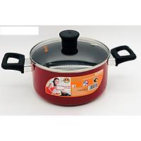 Nồi canh chống dính sắc màu Supor H18202-T20 dùng trên bếp điện từ