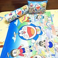 Bộ chăn gối hình Doraemon cho bé 3-5 tuổi