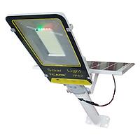 Đèn đường bàn chải năng lượng mặt trời 100W TCARE 357 led, 24000mAh, Tấm năng lượng Mono - Hàng Chính Hãng