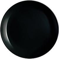Đĩa thủy tinh Luminarc Diwali đen 19cm