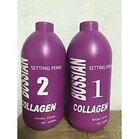 Bộ thuốc Uốn tóc Bussian Collagen (1000mlx2)