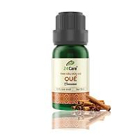 Tinh dầu Quế 24Care - diệt khuẩn, khử mùi hiệu quả, ngủ ngon, an thần, chiết xuất thiên nhiên
