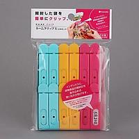 Bộ 12 chiếc kẹp miệng túi Nhật Bản