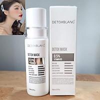 Mặt Nạ Thải Độc Trắng Da Ngừa Mụn Nám Detox BlanC: Detox Mask (mẫu mới) + Tặng kèm Kẹp tóc Ngọc Trai hot trend